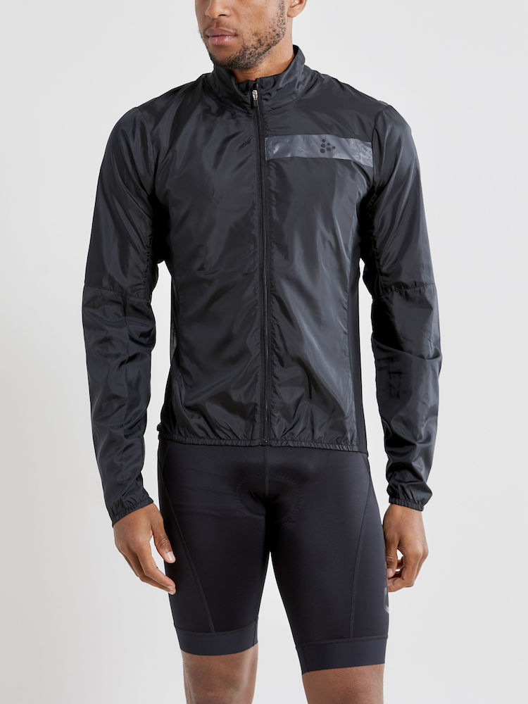 CRAFT ESSENCE LIGHT WIND JACKET MAN BLACK
