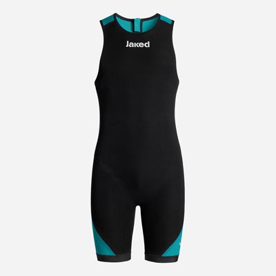 JAKED SWIMSKIN BOOSTER TRIATHLON UNISEX BLACK GREEN.jpg