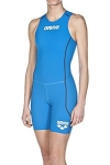 BODY TRIATHLON ARENA WOMAN TRISUIT ST REAR ZIPPER blue 1A915.jpg