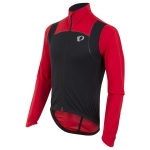 GIACCA CICLISMO PEARL IZUMI MEN'S PRO PURSUIT WIND JACKET black red.jpg