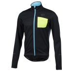 GIACCA CICLISMO PEARL IZUMI MEN'S SELECT ESCAPE SOFTSHELL JACKET BLACK BLUE.jpg