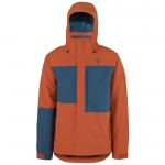 GIACCA NEVE SCOTT TERRAIN DRYO MEN JACKET 244284 burnt orange eclipse blue oxford.jpg