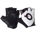 GUANTI BICI PROLOGO LYCRA SHORT FINGER GLOVES WHITE DORS BLACK LOGO.jpg