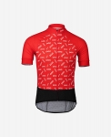 MAGLIA CICLISMO POC ESSENTIAL ROAD LOGO JERSEY 58131 POLKA RED.jpg