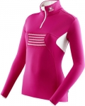 MAGLIA DA SCI XBIONIC SKI RACOON ZIP UP LADY RASPBERRY-WHITE O100085