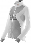 MAGLIA NEVE X-BIONIC SKI LADY RACCOON 2ND LAYER FULL ZIP O100757 WHITE GREY.jpg