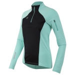 MAGLIA RUNNING PEARL IZUMI WOMEN'S PURSUIT WIND THERMAL JERSEY AQUA MINT.jpg