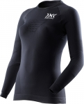 MAGLIA X-BIONIC SPEED EVO RUNNING SHIRT WOMEN LS O100771 BLACK.jpg