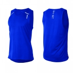 CANOTTA RUNNING 2XU MEN'S GHST SINGLET MR3729A cobalt blue