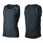 MAGLIA RUNNING 2XU TECH VENTSINGLET MR3754A ink cobalt blue