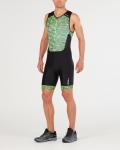 BODY 2XU MEN'S PERFORM FRONT ZIP TRISUIT MT4848d black green.jpg