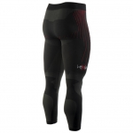 PANTALONE RUNNING LUNGO UNISEX i-eXe BLACK RED BACK.jpg