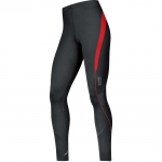 PANTALONI RUNNING GORE TIGHTS ESSENTIAL MEN TSMESS BLACK RED.jpg