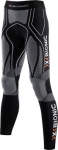 PANTALONI X-BIONIC RUNNING LADY TRICK PANTS LONG BLACK-WHITE O100089