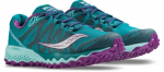 SCARPA TRAIL RUNNING SAUCONY PEREGRINE 7 WOMEN S10359 citron purple teal.png