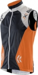 gilet xbionic o100061 running man new spherewind vest