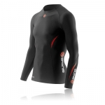 skins-a200-men's-thermal-long-sleeve-compression-top-round-neck