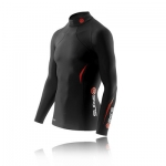 skins-a200-men's-thermal-long-sleeve-compression-top-with-mock-neck