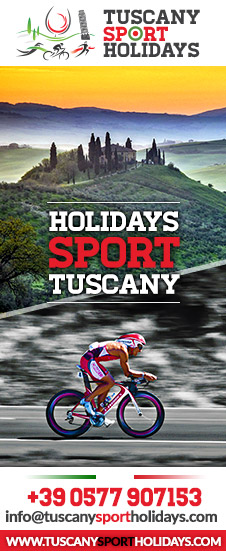 spend sport holidays in Tuscany, Triathlon, cycling, running holidays near Siena and Florence in Tuscany, Italy. Travel Agency for sport holidays in italy